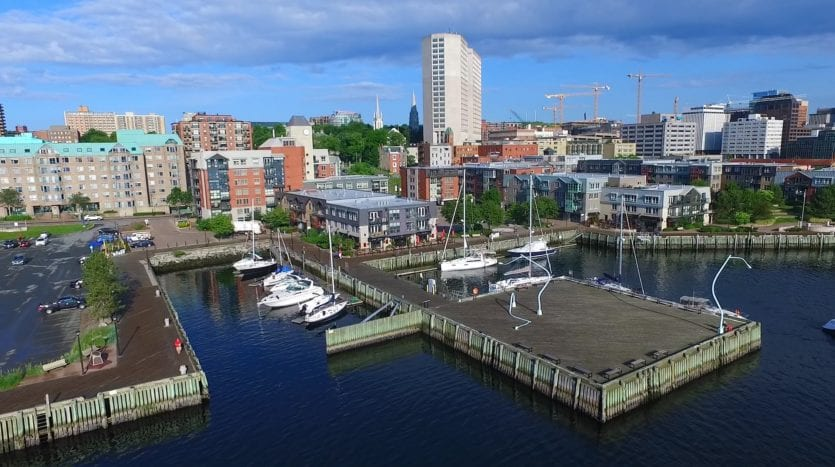 Retail space for lease in Bishop's Landing, Halifax NS